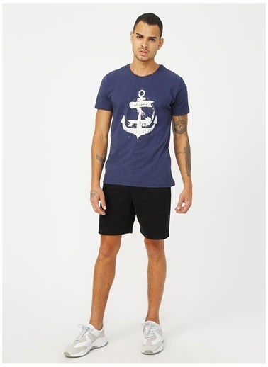 Lee Cooper Lee Cooper Water Lacivert T-Shirt Lacivert